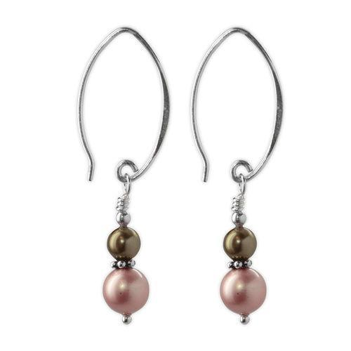 Jody Coyote Fifth Avenue Pastel Rose Gold Earring