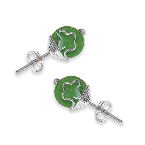 Jody Coyote Speira Green Earring