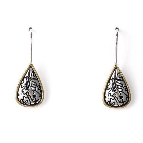 Jody Coyote Bloom Small Teardrop Earring
