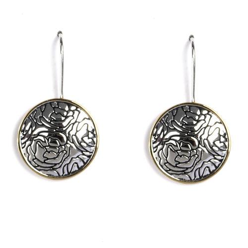 Jody Coyote Bloom Round Earring