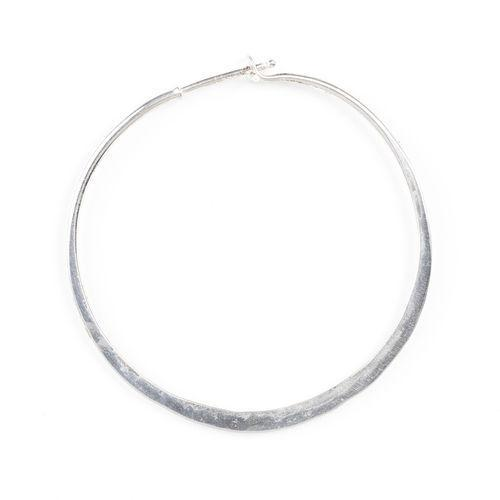 "Jody Coyote Throwback Hammered Hoop - Large 1.75"" Earring"