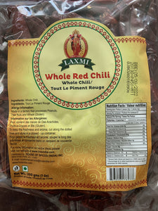 Laxmi Red Chilli Whole - 200g