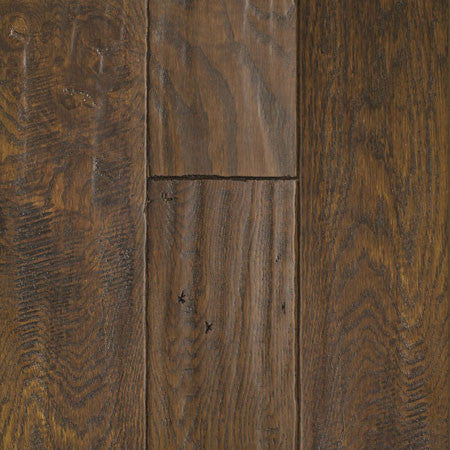 Oak Ebony Handscraped