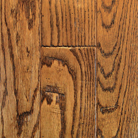 Oak Saddle Handscraped