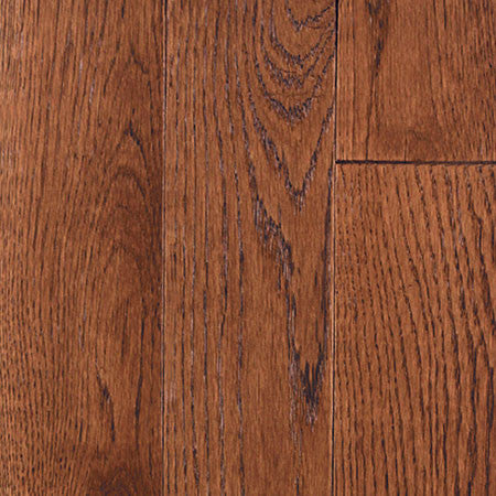 Oak Tanned Leather - Wire Brushed Great Lakes Flooring