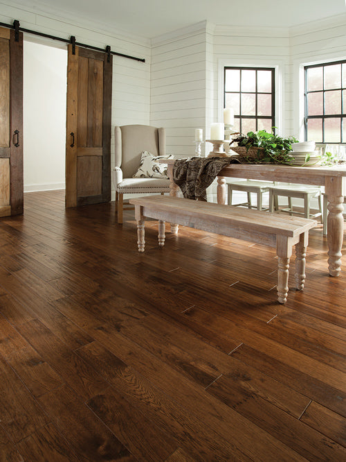 Appalachian Hardwood Flooring shaw appalachian hickory 5 in w prefinished hickory engineered hardwood flooring shenandoah Homepage Image