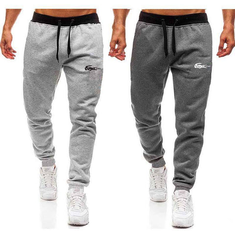 Tapered Fit Gym Workout Sweatpants - My Amigo