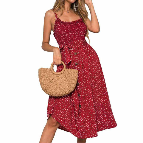 Womens Summer Boho Beach Dress - My Amigo