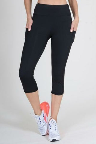 Five Pocket Capri Leggings