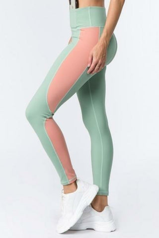 Block Sports Leggings