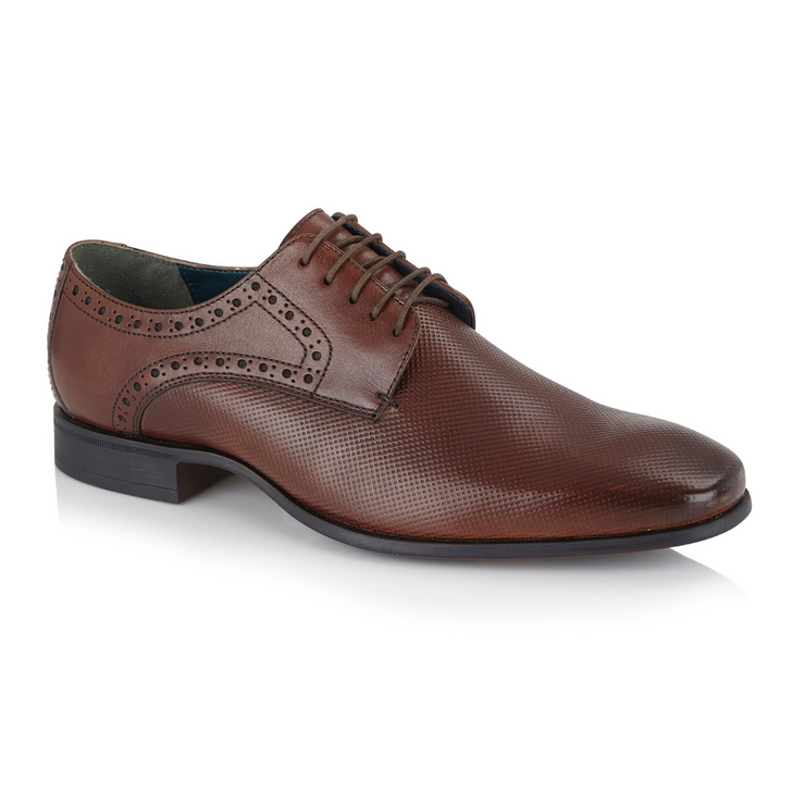 Sutton Derby Shoe - Brown