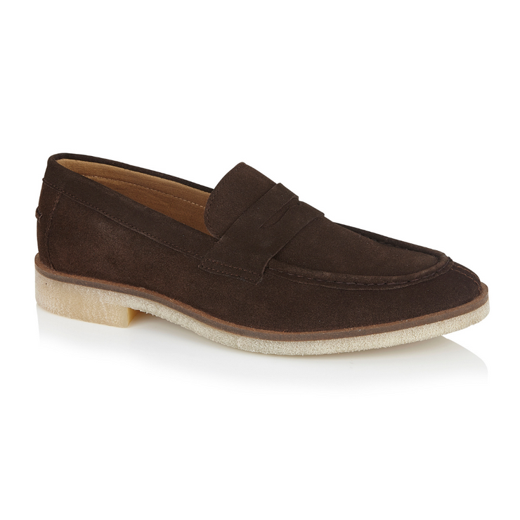 Morgan Loafer Shoe - Brown