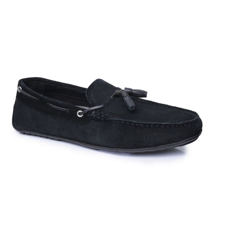 Jackson Tassel Loafer - Black
