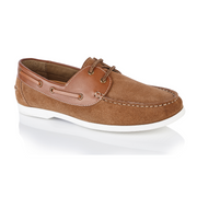 Wave Boat Shoe - Tan