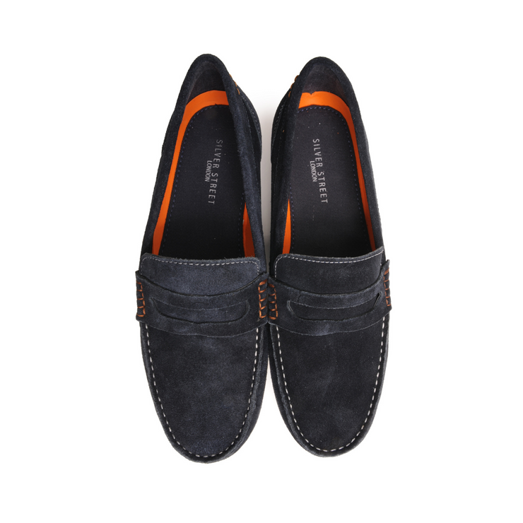 Skipper Penny Loafer - Blue