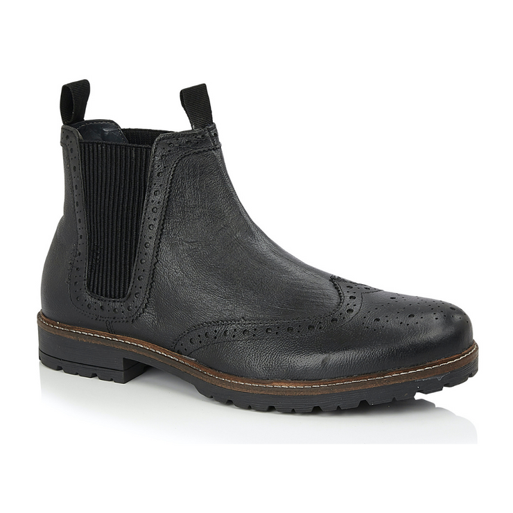 Albion Chelsea Boot - Black