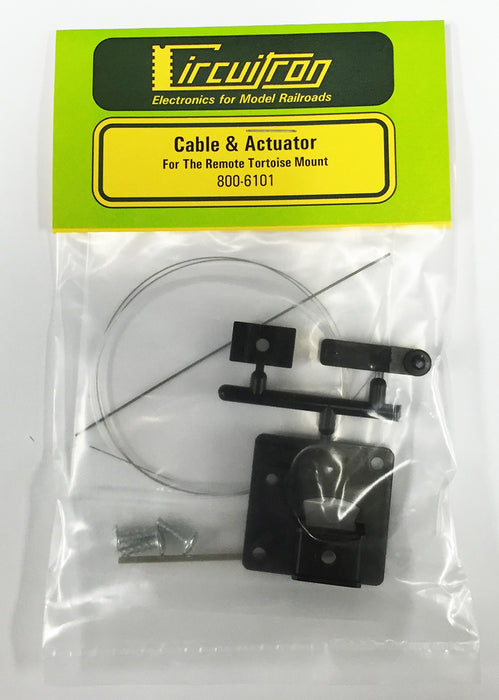 Circuitron 800-6101 Remote Tortoise Mount - For Crossovers & Double Slip Switches