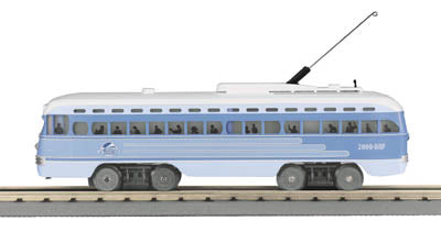 MTH 20-80002H O Guage PCC Electric Street Car 2000 DAP Dealer Appreciation with Proto-Sound 1 - NOS