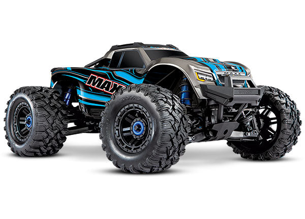 Traxxas 89076-4 1/10 Maxx VXL-4s Brushless 4x4 Monster Truck Blue