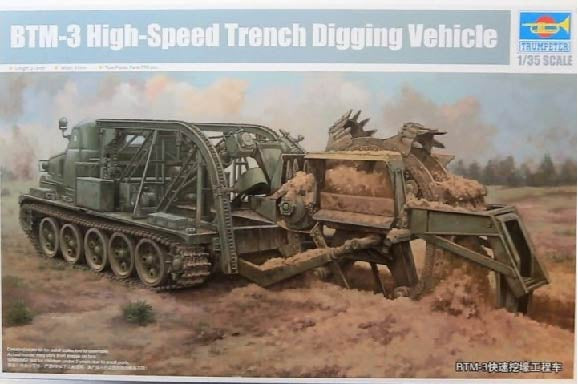 Trumpeter Scale Models 9502 1/35 BTM3 High-Speed Trench Digging Vehicle