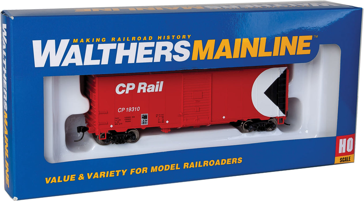 Walthers Mainline 910-1159 HO Scale 40' Modernized AAR 1948 Boxcar Canadian Pacific CP 19310