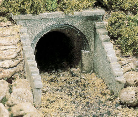 Woodland Scenics C1263 HO Scale Culvert - Masonry Arch (2-Pack)