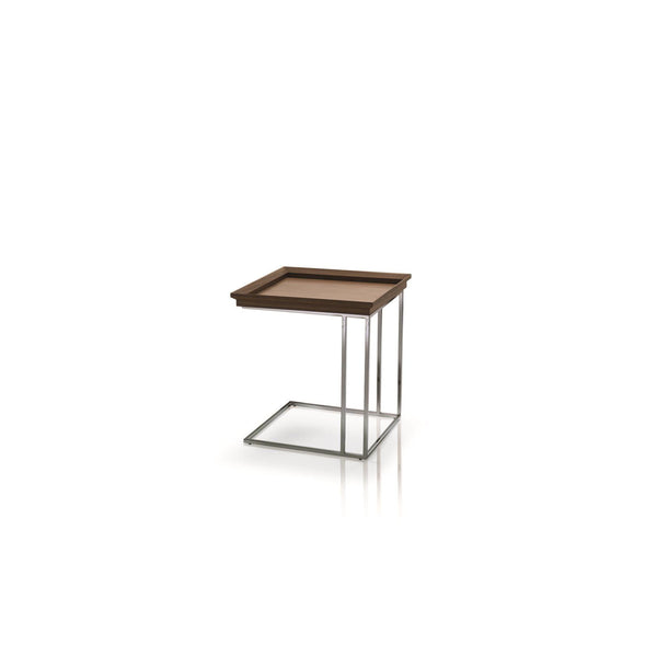 CUCU - SIDE TABLE WITH REMOVABLE TRAY