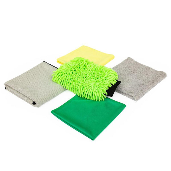 Car Wash Detailing Microfiber Kit