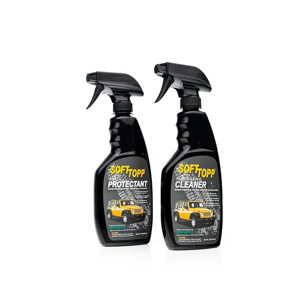 Jeep® Vinyl Top Cleaner & Protectant Kit