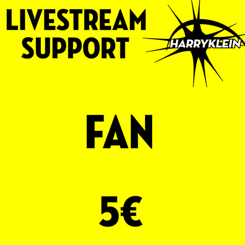 Livestream Support - FAN 5€