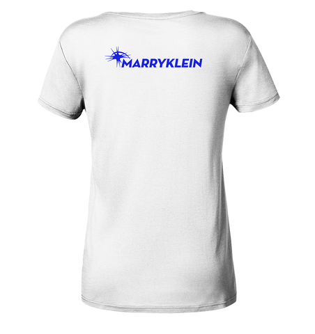 Marry Klein Logo Back - Ladies Organic Shirt