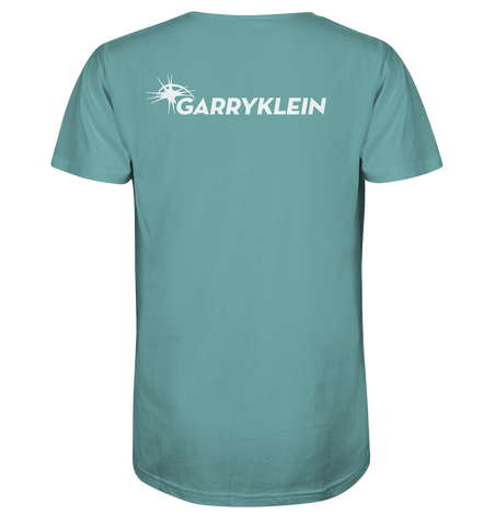 Garry Klein Logo Back White - Organic Shirt