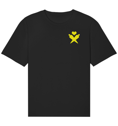 Karotte Logo Front Yellow - Limited Edition - Organic Relaxed Shirt