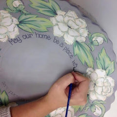 hand-painted and customized Blessing Bowl
