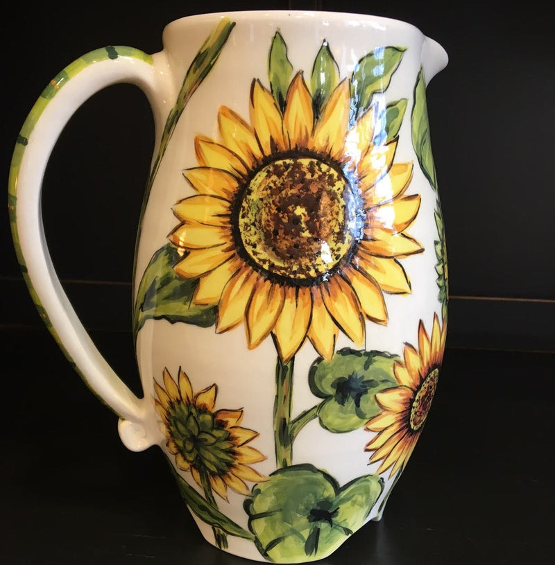 Sunflower Large Pitcher
