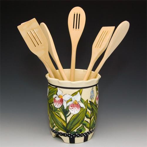 Spring Utensil Holder