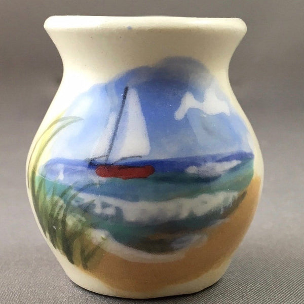 Sailboat Mini Vase