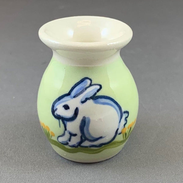 Bunny Mini Vase Green