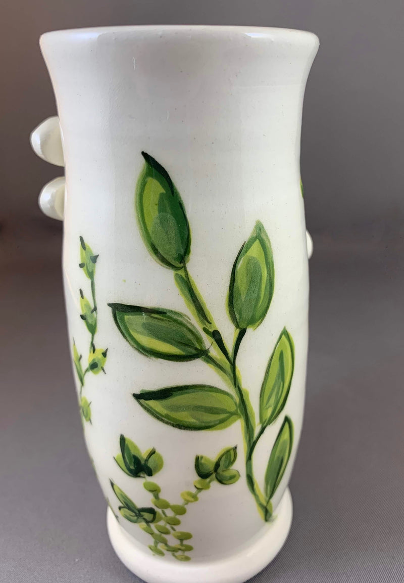 back of Monarch Vase