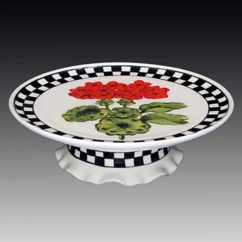 Summer Cake Stand with Pedestal