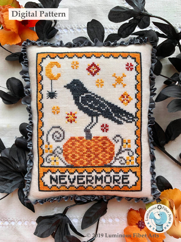 A Raven's Reply by Luminous Fiber Arts DIGITAL PDF Pattern