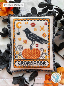 A Raven's Reply by Luminous Fiber Arts Printed Paper Pattern