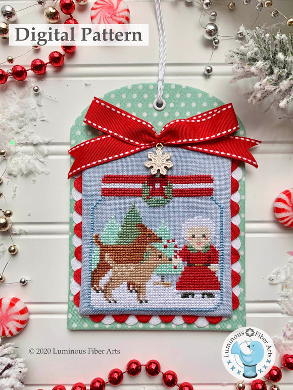 Christmas in the Kitchen: Candy Canes by Luminous Fiber Arts DIGITAL PDF Pattern
