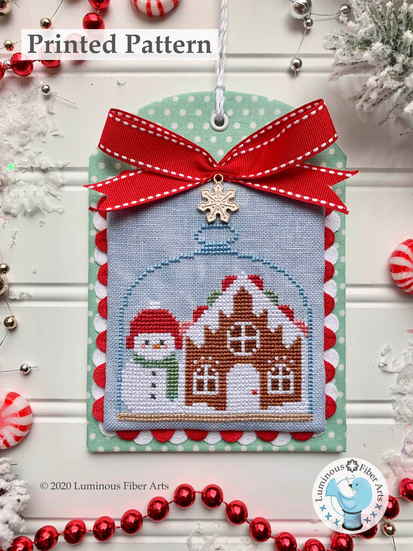 Christmas in the Kitchen: Gingerbread by Luminous Fiber Arts Printed Paper Pattern