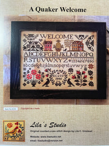 A Quaker Welcome by Lila's Studio