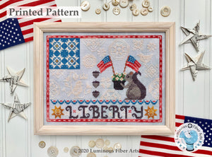 Liberty Quaker by Luminous Fiber Arts Printed Paper Pattern