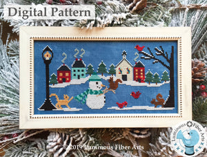 Snow Many Friends by Luminous Fiber Arts DIGITAL PDF Pattern