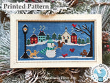 Snow Many Friends by Luminous Fiber Arts Printed Paper Pattern