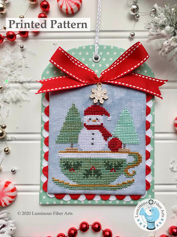 Christmas in the Kitchen: Tea by Luminous Fiber Arts Printed Paper Pattern