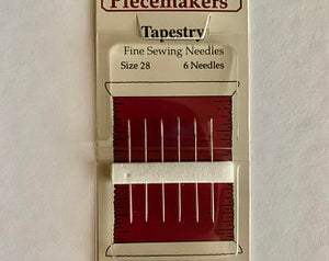 Piecemakers Needles Size 28 (set of 6)